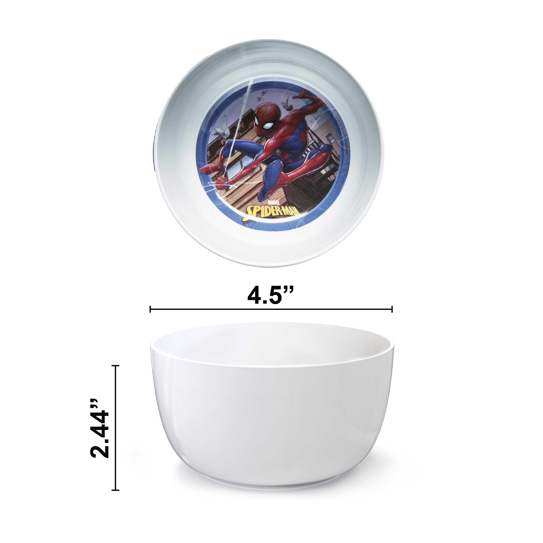 Marvel Kid's Dinnerware Set, Spider-Man, 3-piece set slideshow image 5