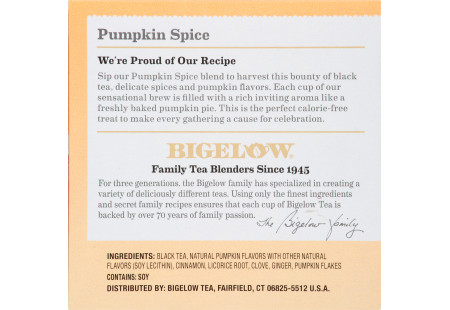Pumpkin Spice K-Cups - Case of 6 boxes - total of 72 kcups