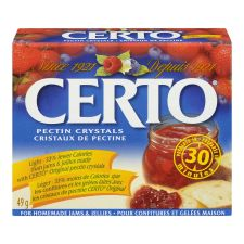 Certo Light Pectin Crystals