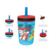 Paw Patrol 15  ounce Plastic Tumbler, Chase, Skye, Marshall and Friends, 3-piece set slideshow image 4