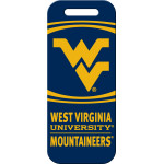 West Virginia Mountaineers Large Luggage Quick-Tag