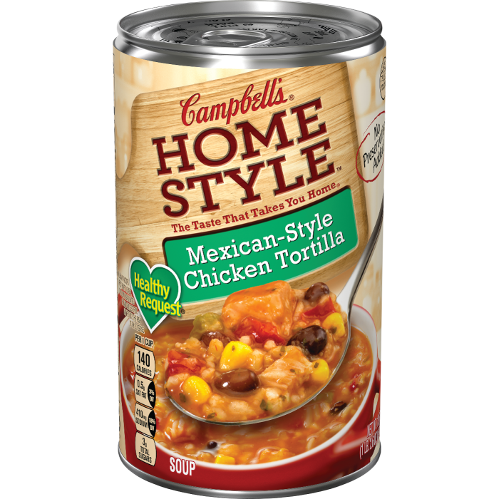 Mexican-Style Chicken TortillaSoup