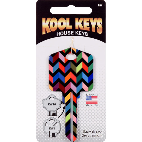 Kool Keys Chevron Key Blank Kwikset 66/97 KW1/10