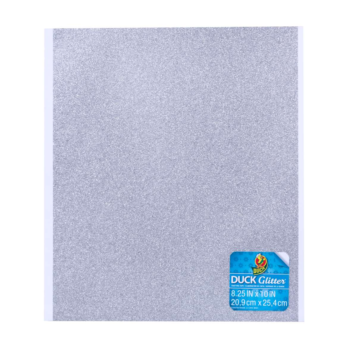 Duck Glitter® Sheets - Silver, 8.25 in x 10 in Image