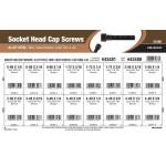 Mini Heat-Treated Socket-Head Cap Screws Assortment (#0-80 thru #4-40 Thread)