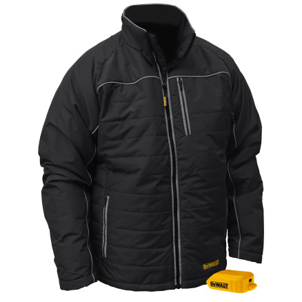 DEWALT® Unisex Heated Quilted Soft Shell Jacket