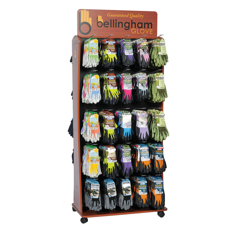 Bellingham Premium 50 Peg Lawn & Garden Glove Assortment