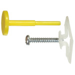 Pop-Toggle Anchor w/ Screw & Pin