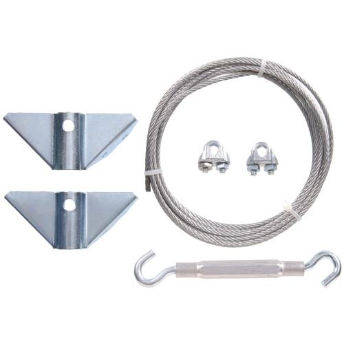 Hardware Essentials Zinc Plated Gate Anti-Sag Kit