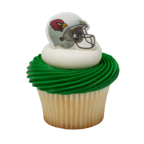 NFL Arizona Cardinals Cupcake Rings