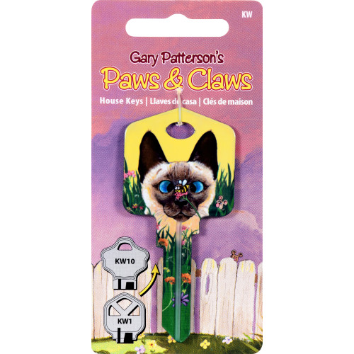 Paws & Claws Bee Wildered Key Blank Kwikset 66/97 KW1/10