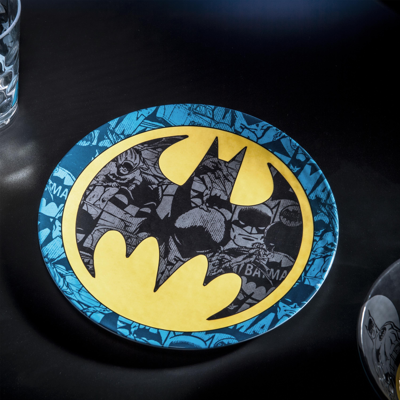 DC Comics Plate, Bowl and Tumbler Set, Batman, 3-piece set slideshow image 3
