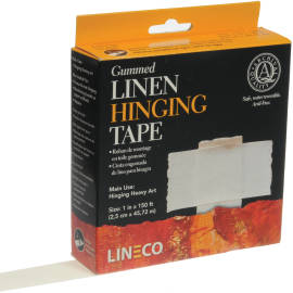 AcidFree Gum Linen Tape 1