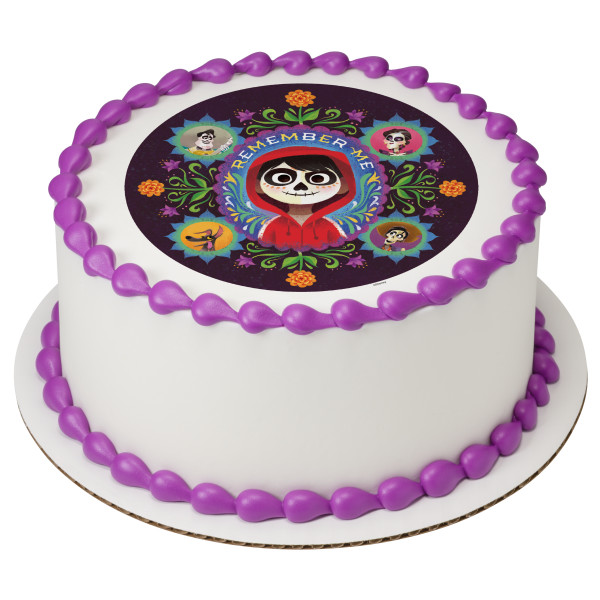 Disney/Pixar Coco Remember Me PhotoCake® Edible Image®