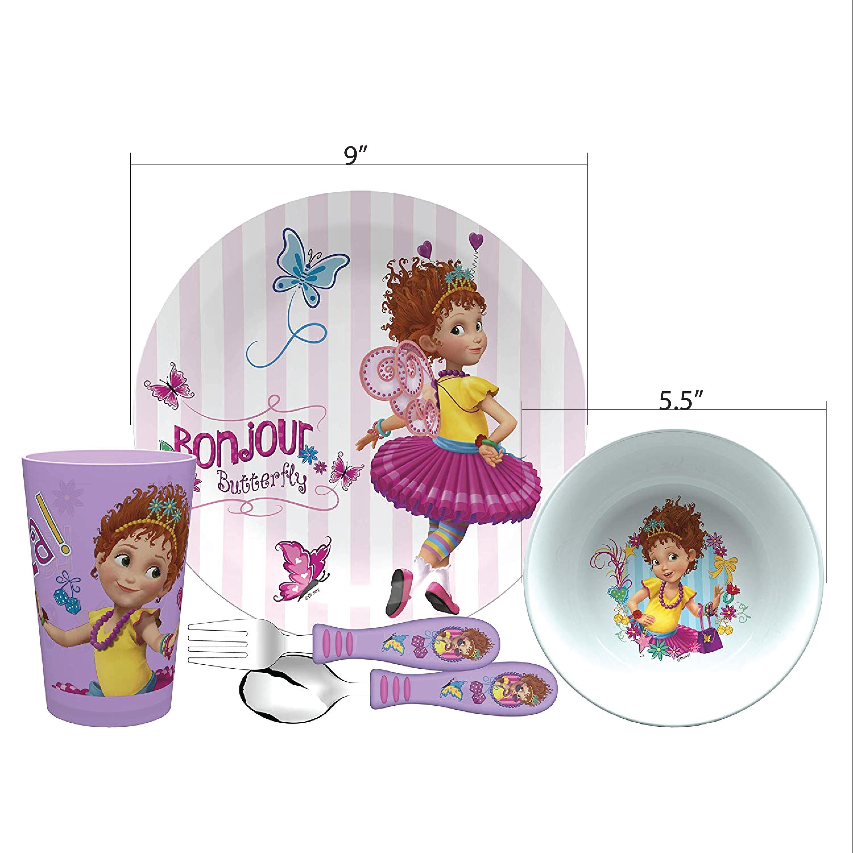 Disney Jr. Dinnerware Set, Fancy Nancy, 5-piece set slideshow image 6