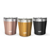 Dayton 10 ounce Vacuum Insulated Stainless Steel Tumbler, Copper, 2-piece set slideshow image 6