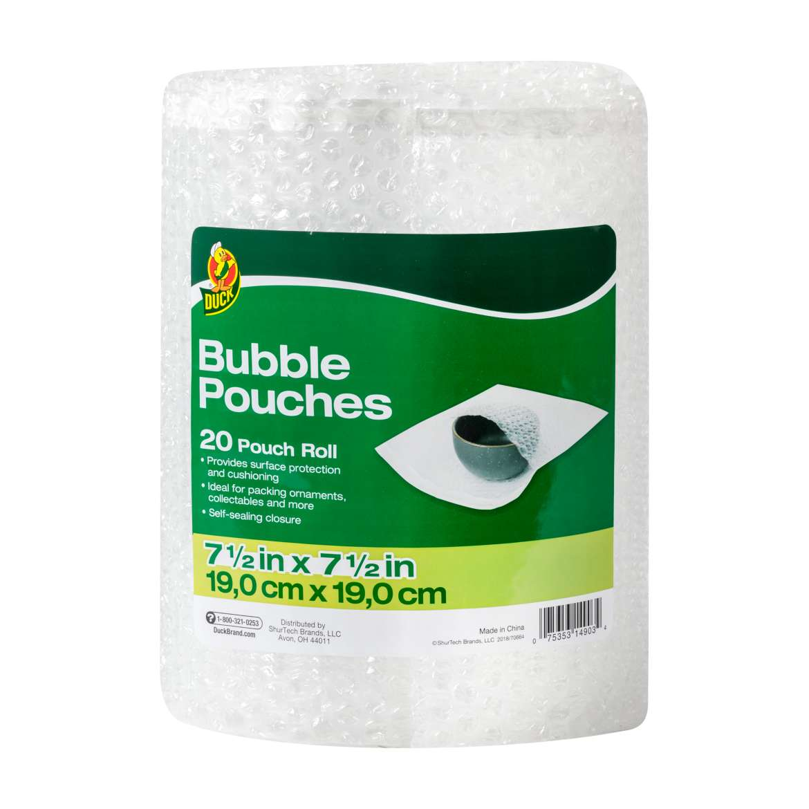 Duck® Brand Bubble Pouches on a Roll Image