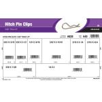"""Hitch Pin Clips Assortment (3/32"""" thru 1/4"""" Eye Diameter)"""