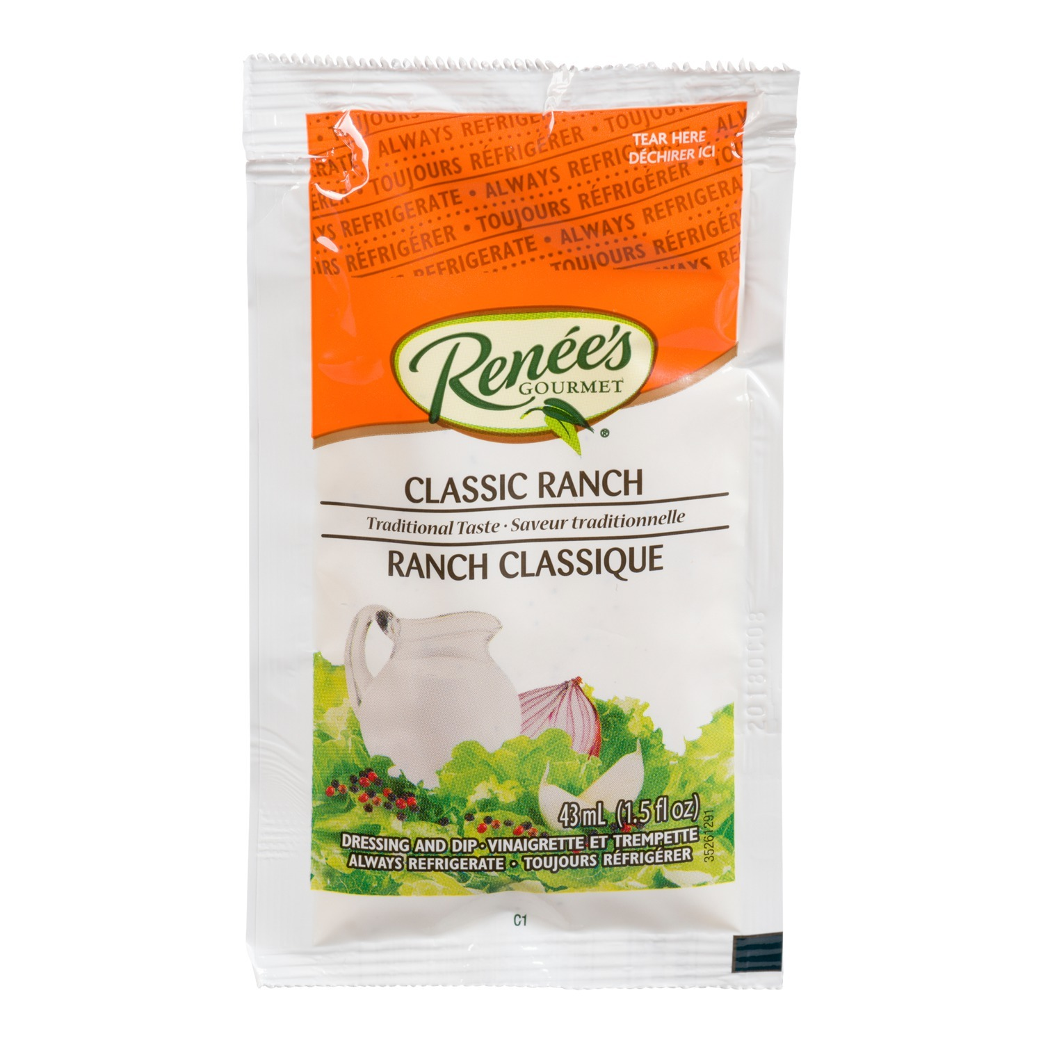 RENÉE'S Classic Ranch Dressing 43ml 120
