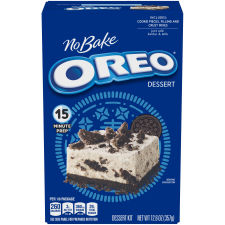 Jell-O No Bake Oreo Dessert Mix, 12.6 oz Box