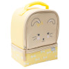 Soft Lines 2-compartment Reusable Insulated Lunch Bag, Bunnies slideshow image 3