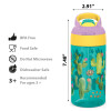 Zak Hydration 16 ounce Water Bottle, Cactus, Flamingos and Pineapples, 2-piece set slideshow image 7