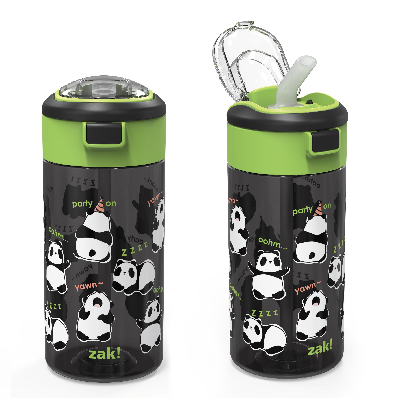 Genesis 18 ounce Water Bottles, Panda, 2-piece set slideshow image 4