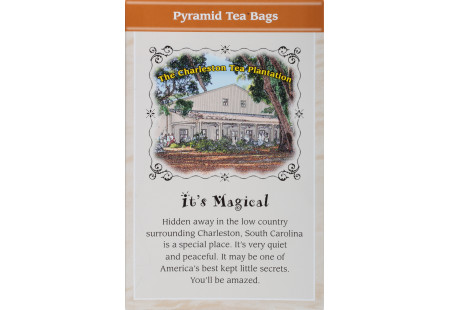 Back of Charleston Tea Cinnamon Spice Tea box