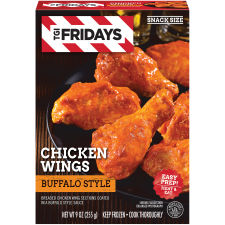 T.G.I. Friday's Buffalo Style Chicken Wings 9 oz Box