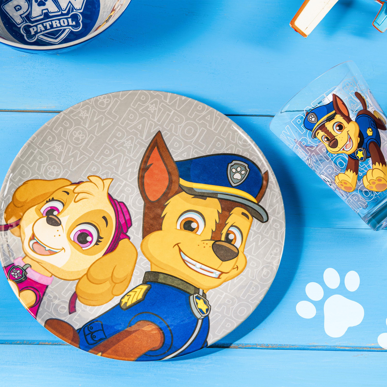 Paw Patrol Plate, Bowl and Tumbler Set, Chase, Skye and Marshall, 3-piece set slideshow image 3
