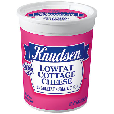 Knudsen Small Curd Lowfat Cottage Cheese 32 oz Tub