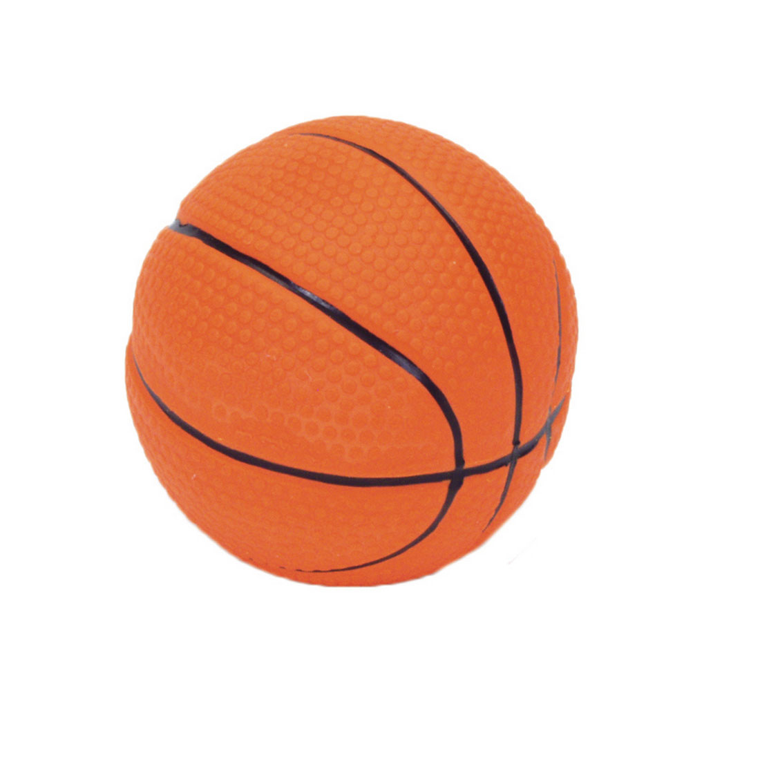 "Rascals® 2.5"" Latex Basketball Dog Toy"