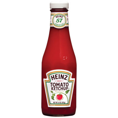 Heinz Tomato Ketchup 14 oz Bottle