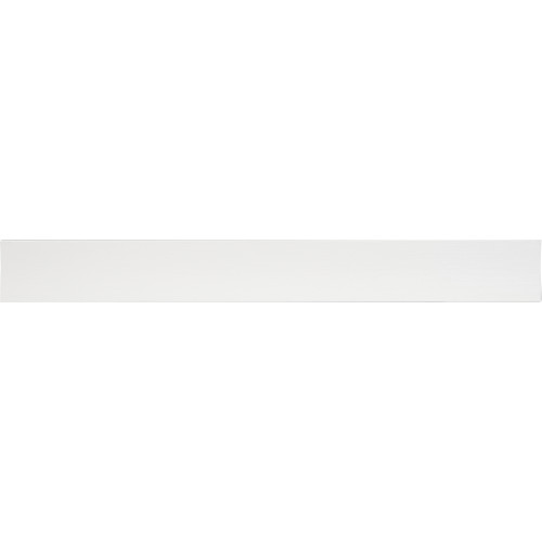 High & Mighty Floating Shelf Flat Design White 18