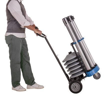 Rover Cart Bundle - Silver Steel 12