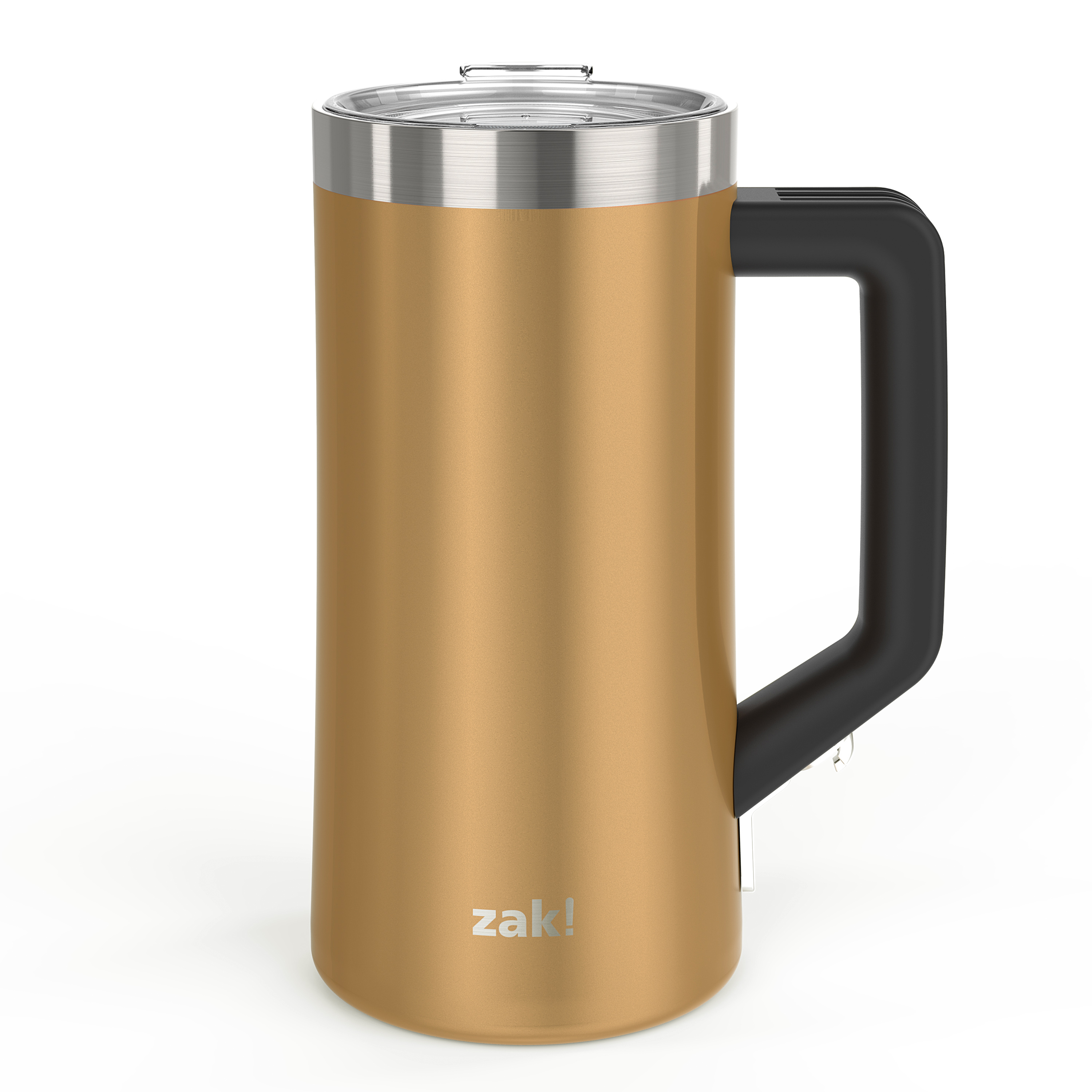 Creston 25 ounce Stainless Steel Vacuum Insulated Beer Stein, Copper slideshow image 10