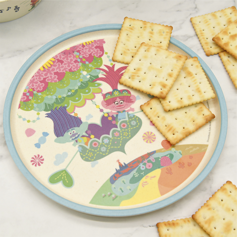 Trolls 2 Movie Kids 3-piece Dinnerware Set, Poppy & Friends, 3-piece set slideshow image 7