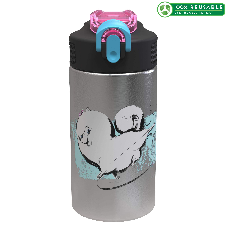 Secret Life Of Pets 2 15.5 ounce Water Bottle, Gidget slideshow image 1