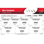 Uninsulated Butt & Bullet Wire Terminals Assortment