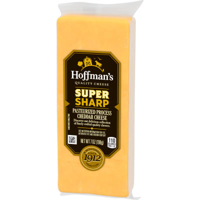 Hoffman's Super Sharp Cheddar Cheese 7 oz