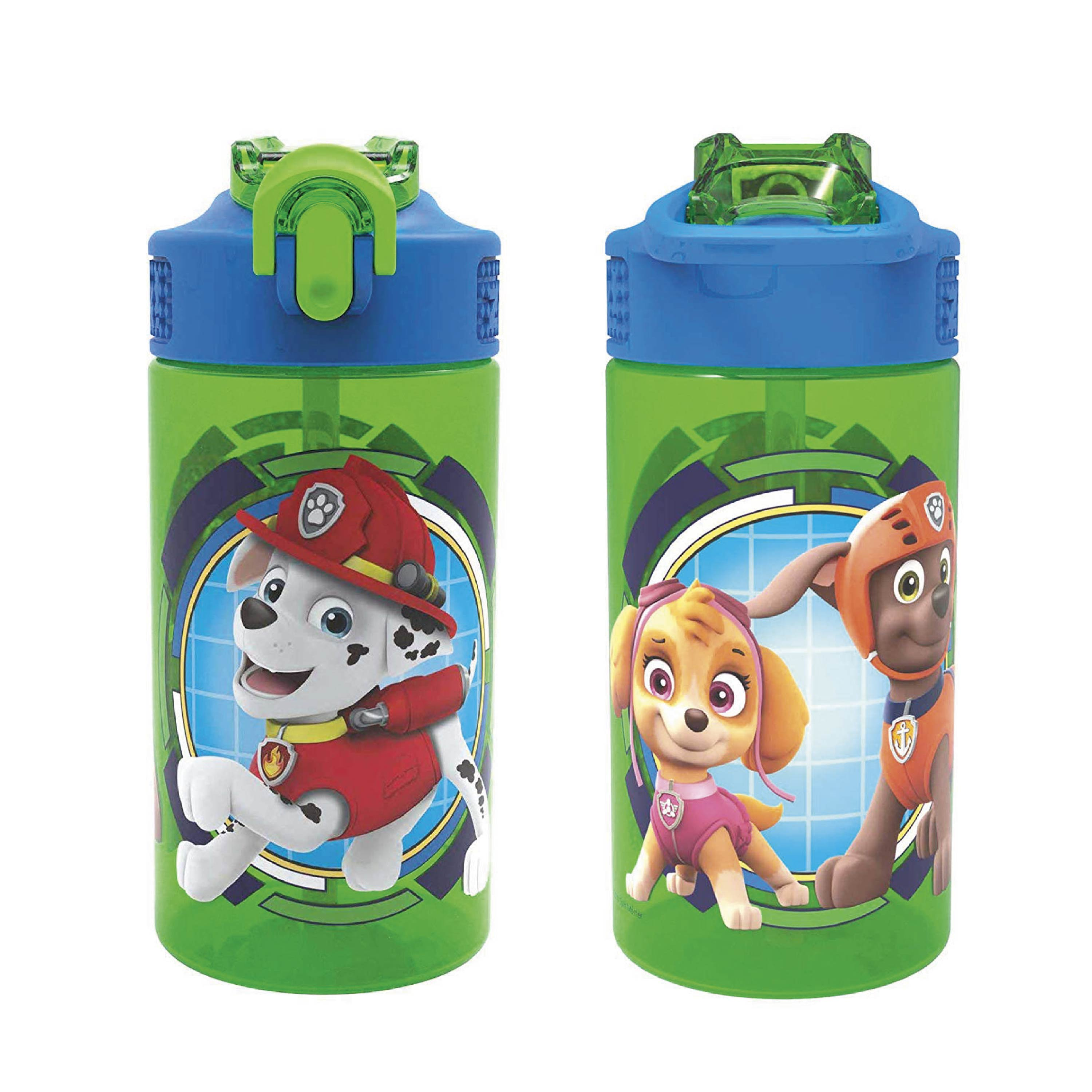 Paw Patrol 16 ounce Water Bottle, Rocky, Rubble & Chase slideshow image 3