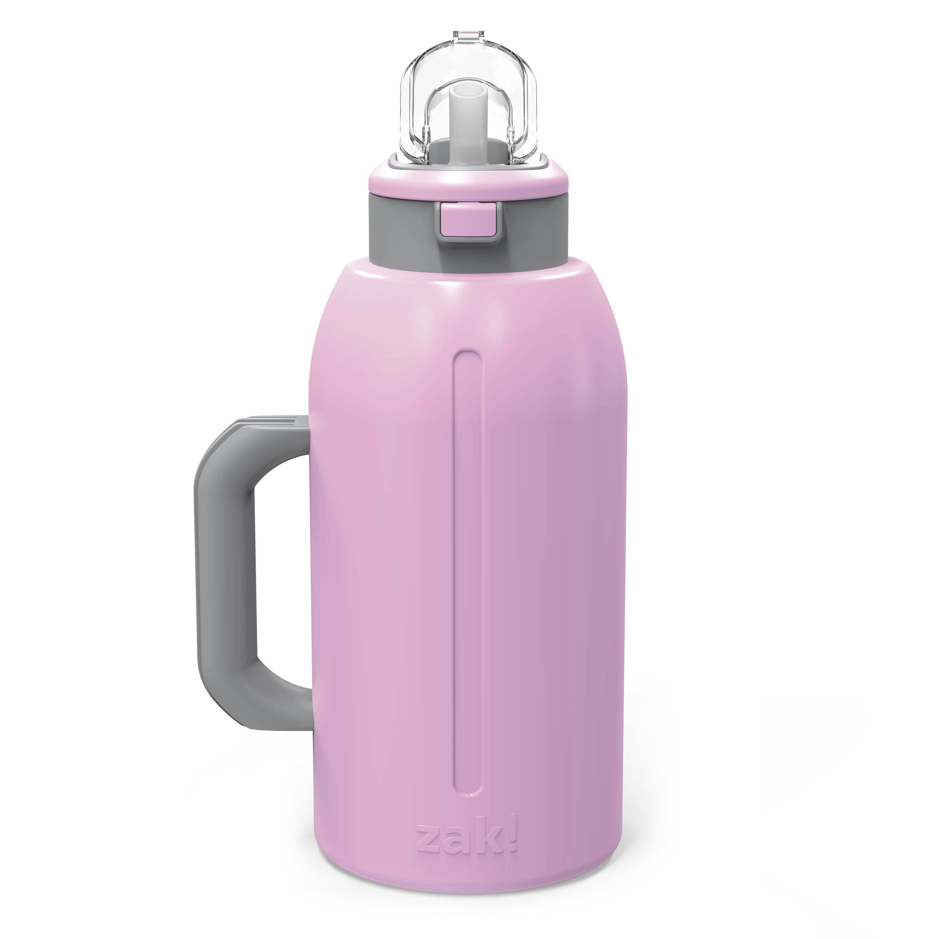 Genesis 64 ounce Stainless Steel Water Bottles, Lilac slideshow image 3