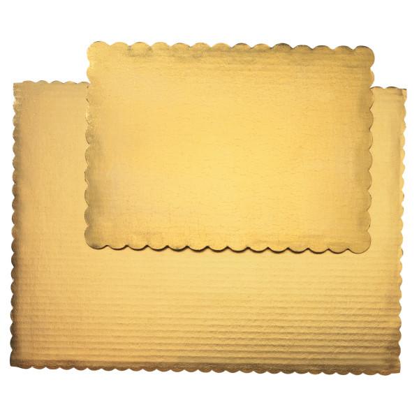 1/2 Sheet Gold Cake Board