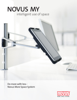 NOVUS MY Product Brochure