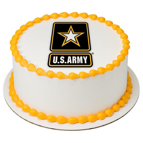United States Army® PhotoCake® Edible Image®