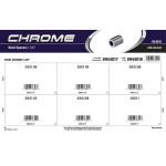"""Chrome Steel Spacers Assortment (3/8"""" Inner diameter)"""