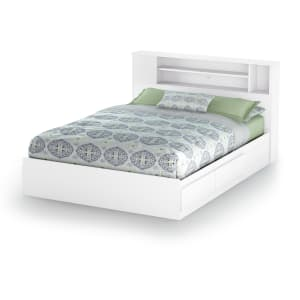 Vito - Mates Bed and Bookcase Headboard Set