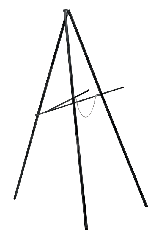 close up of Tripod Target Stand