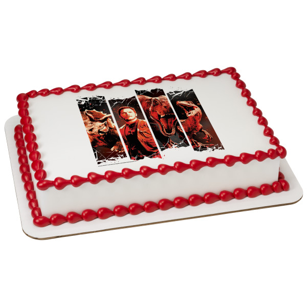 Jurassic World™ Fallen Kingdom Relocate PhotoCake® Edible Image®