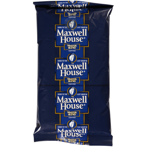 MAXWELL HOUSE Master Blend Ground Coffee Urn Pack, 8.75 oz. Bags (Pack of 28)